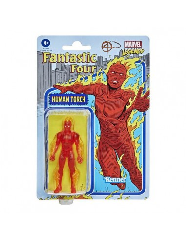 Human Torch. Marvel Legends Retro