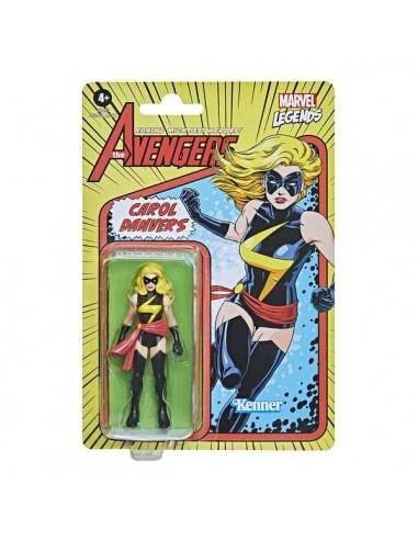 Carol Danvers. Marvel Legends Retro