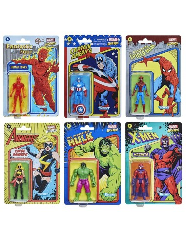 Marvel Legends Retro Pack