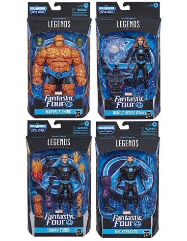 Fantastic Four Set. Marvel Legends