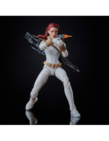 Black Widow White Suit Deadly Origin....