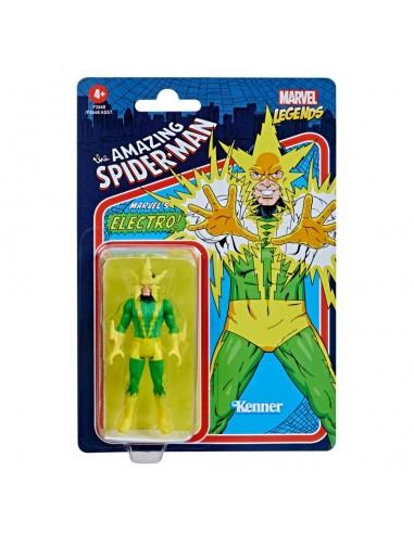 Electro. Marvel Legends Retro