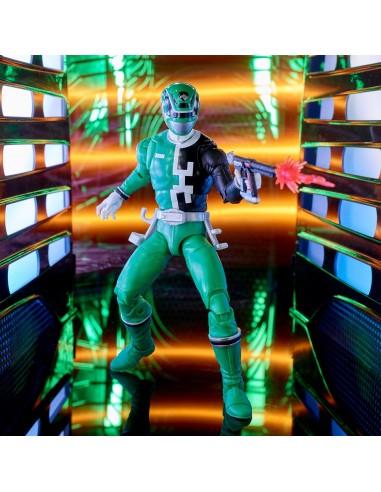 S.P.D. Green Ranger. Power Rangers...