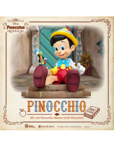 Pinocchio. Master Craft Statue. Disney.
