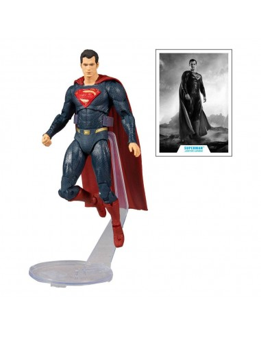 Superman (Blue/Red Suit). Justice League