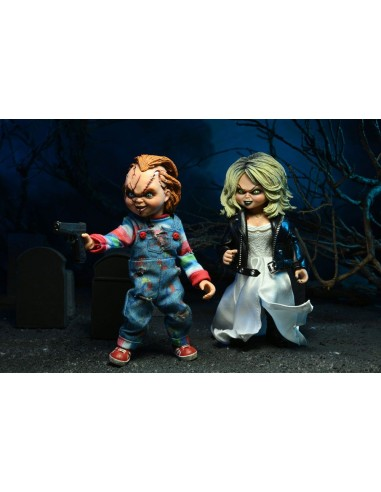 Chucky & Tiffany Clothed Action....